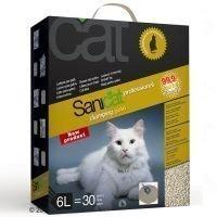 Sanicat Professional Clumping Gold -kissanhiekka - säästöpakkaus: 6 x 6 l
