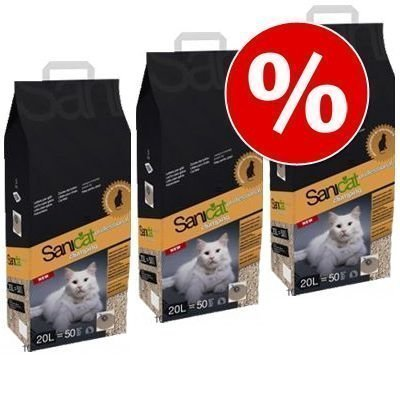 Sanicat Professional Clumping -säästöpakkaus