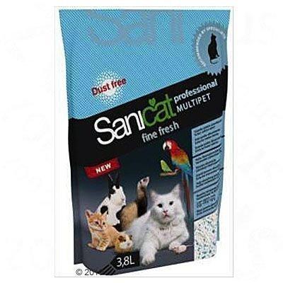 Sanicat Professional Multipet Fine Fresh - säästöpakkaus: 3 x 3