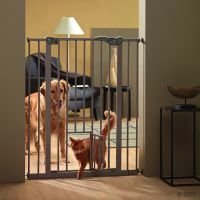 Savic Dog Barrier -koiraportti kissanluukulla - laajennuskappale: K 107 cm