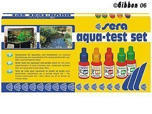 Sera Aqua Test Gh / Ph / Kh / No2