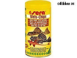 Sera Wels Chips (levää Syövät) 250 Ml
