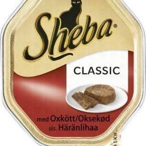 Sheba Cat Classic Oxkött 36x85g