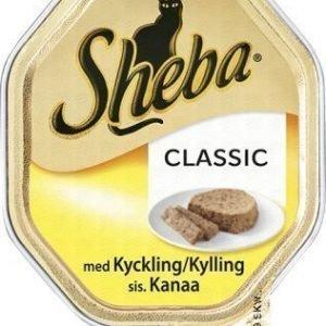 Sheba Cat Classig Kyckling 36x85g