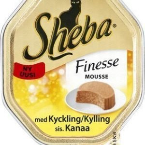 Sheba Cat Finesse Mousse Kyckling 24x85g