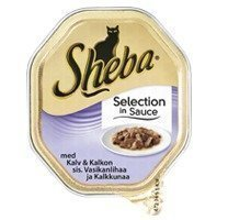 Sheba Cat Selection Kalv&Kalkon 36x85g