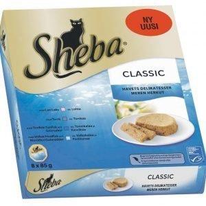 Sheba Classic Meren Herkut 8 X 85 G Pakkaus