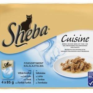 Sheba Cuisine Oceans Menu 4 X 85 G Kissan Annospakkaukset