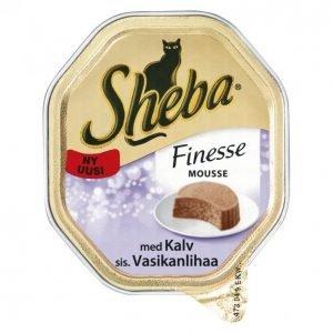 Sheba Kissanruoka 85 G Vasikka Finesse Mousseaikuisille Kissoille
