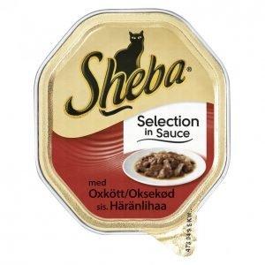 Sheba Kissanruoka 85g Selection Häränliha