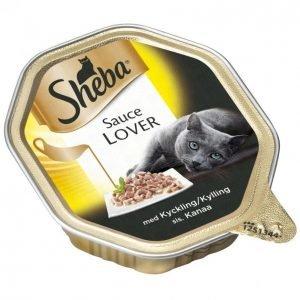Sheba Kissanruoka Sauce Lover 85 G Kana