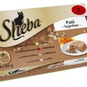 Sheba Paté Supreme 4 X 85 G Kissan Annospakkaukset