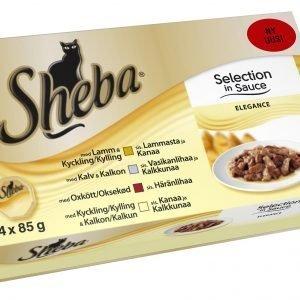 Sheba Selection Elegance 4 X 85 G Kissan Annospakkaukset