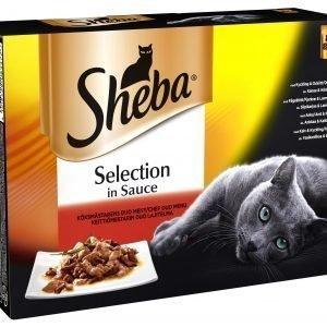 Sheba Selection Keittiömestarin Lajitelma 8 X 85 G Kissan Annospakkaukset
