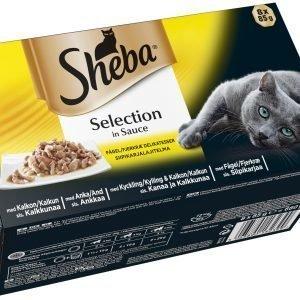 Sheba Selection Siipikarjalajitelma 8 X 85 G Kissan Annospakkaukset