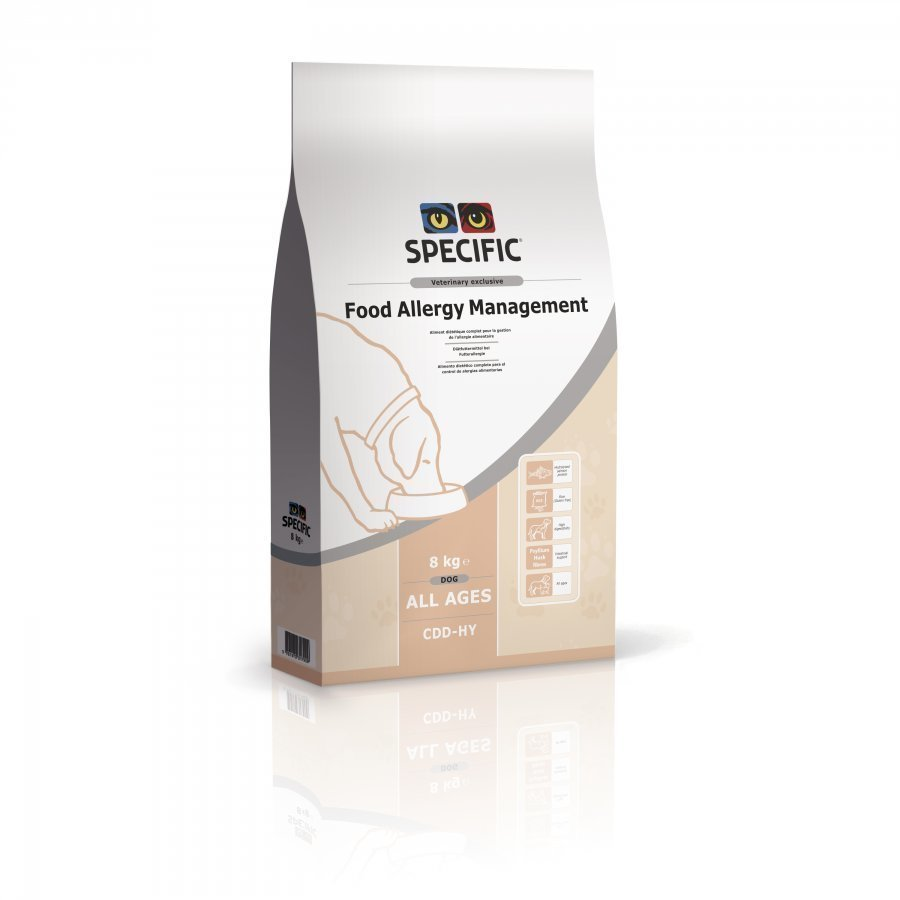 Specific Dog Food Allergy Management Cdd Hy 8 Kg