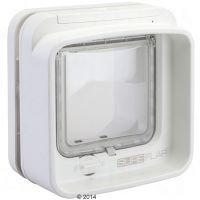 SureFlap DualScan -mikrosiruluukku - lisäosa ikkunalasiin asentamiseen