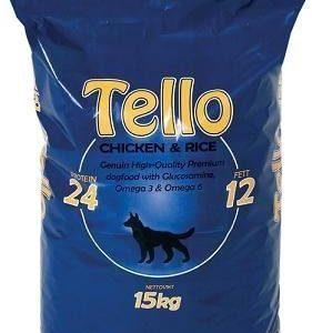 Tello Chicken & Rice 15 Kg