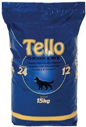 Tello Chicken & Rice 15 Kg