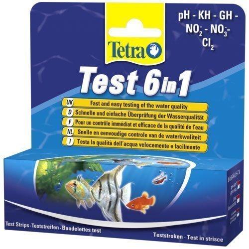 Tetra Test 6 In 1 25 Kpl