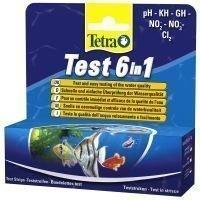 TetraTest 6 in 1 -testiliuskat - 2 x 25 testiliuskaa (2-pakkaus)