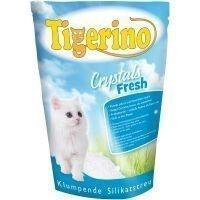Tigerino Crystals Fresh - paakkuuntuva kissanhiekka - 3 x 5 l