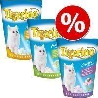 Tigerino Crystals -kokeilupakkaus 3 x 5 l - Fun: 2 x vaaleanpunainen / 1 x sininen