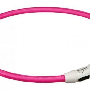 Trixie Flash Usb Lysring Rosa