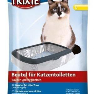 Trixie Hiekkalaatikkopussit 10 Kpl / Pakkaus L 46x59 Cm
