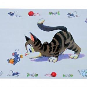 Trixie Ruoka Alusta Comical Cat 44x28 Cm