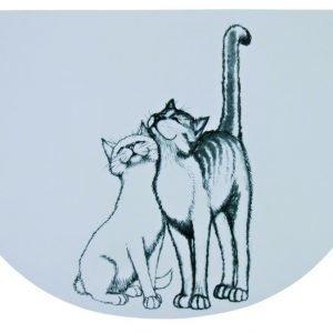 Trixie Ruoka Alusta Piirretyt Kissat 44x28 Cm