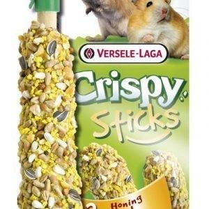 Versele-Laga Crispy Sticks Hamsteri & Gerbiili Hunaja 2 Kpl / Pakkaus