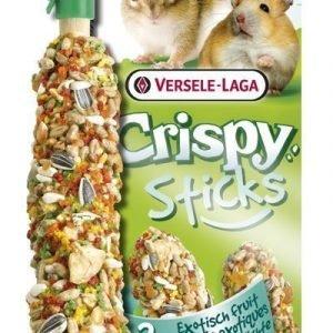 Versele-Laga Crispy Sticks Hamsteri & Orava Eksoottiset Hedelmät 2 Kpl / Pakkaus