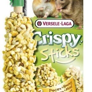 Versele-Laga Crispy Sticks Hamsteri & Rotta Popcorn & Hunaja 2 Kpl / Pakkaus