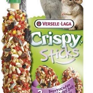 Versele-Laga Crispy Sticks Kani & Chinchilla Metsämarja 2 Kpl / Pakkaus