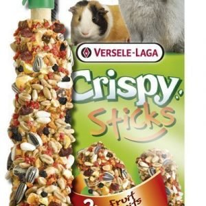 Versele-Laga Crispy Sticks Kani & Chinchilla Yrtit 2 Kpl / Pakkaus