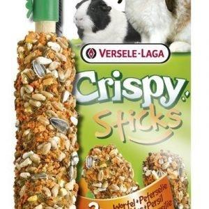 Versele-Laga Crispy Sticks Kani & Marsu Porkkana & Persilja 2 Kpl / Pakkaus