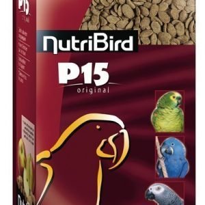 Versele-Laga Nutribird P15 Original Papukaijapelletit 10 Kg