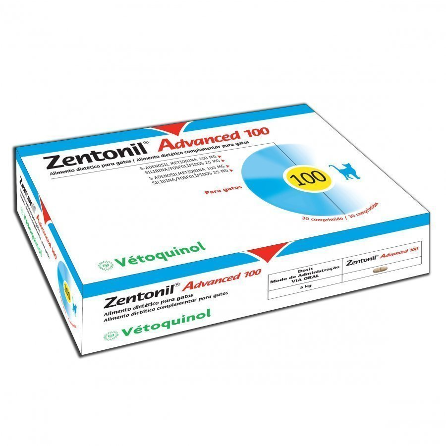 Vetoquinol Zentonil Advanced 100 Mg