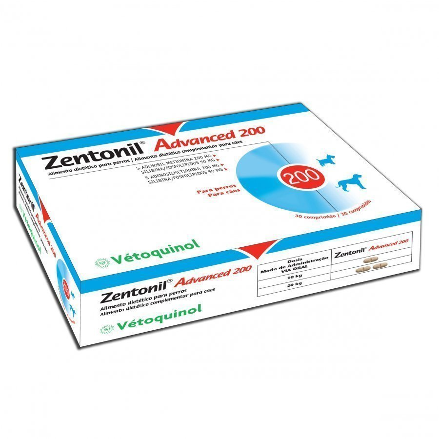 Vetoquinol Zentonil Advanced 200 Mg