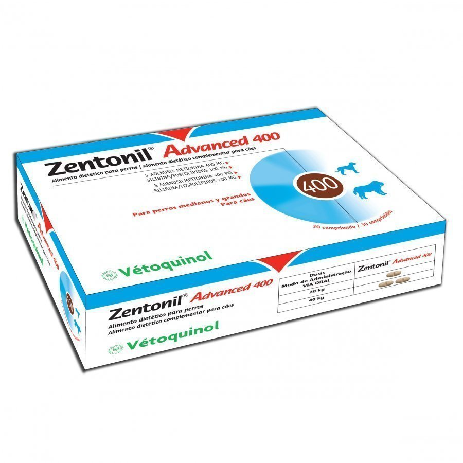 Vetoquinol Zentonil Advanced 400 Mg