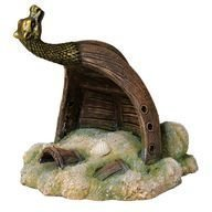 Viikinki hylky akvaariokoriste