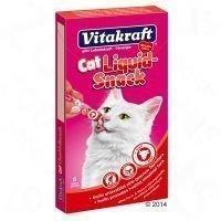 Vitakraft Cat Liquid-Snack Beef + Inulin - 6 x 15 g
