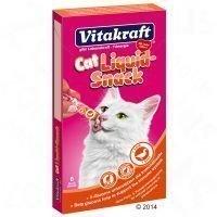 Vitakraft Cat Liquid-Snack Duck + Beta-glucan - 6 x 15 g