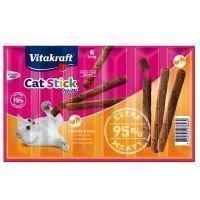 Vitakraft Cat Stick Mini - lohi & taimen (6 x 6 g)