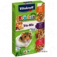 Vitakraft Hamster Kräcker Trio-Mix - 3 kpl