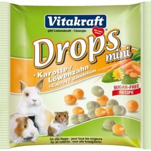 Vitakraft Happy Drops Mini Porkkana 40 G