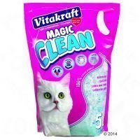 Vitakraft Magic Clean -silikaattihiekka - 3 x 5 l