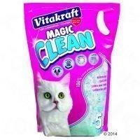 Vitakraft Magic Clean -silikaattihiekka - 3 x 5 l