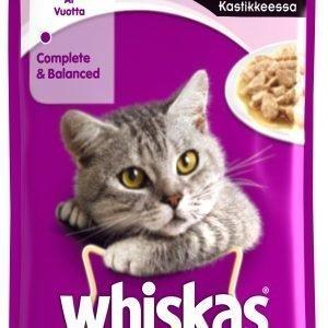 Whiskas 1+ Lohta Kastikkeessa 100 G Kissan Annospakkaus